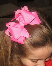 Girls Hair Bows Hair Bow Bundles Lot Sets of hairbows Boutique Bows set of 8