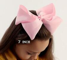 Big Bows Jumbo Hair Bow Lot Set of 3 Southern Style Bows Big 7 inch Hairbows