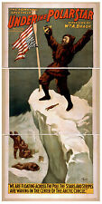 Photo Print Vintage Poster: Stage Theatre Turn Of Century Under The Pole Star 04
