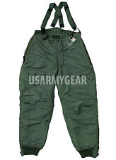 USA F-1B Heavy Zone AIR Force Extreme COLD Weather FLIGHT PANTS ECW Trousers GI
