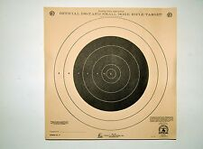 Vintage NRA Official 100 Yard Small Bore Rifle Targets 20 sheets Outers Lab. Inc