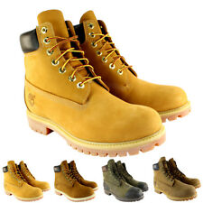 Mens Timberland Premium Classic Leather Original Lace Up Boots US Sizes 7.5-12