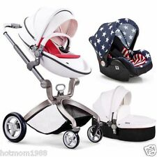2017 Hot Mom Baby Stroller 3 in 1 Travel System and Bassinet Baby Stroller