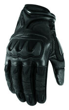 Icon Mens Overlord Resistance Leather Mesh Gloves 2013