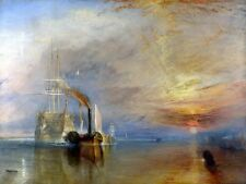 The Fighting Temeraire Painting by Joseph MW Turner Art Reproduction