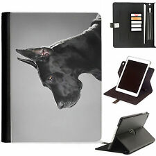 Dog Puppy 2 Luxury Apple ipad 360 swivel ipad leather case cover with card slots