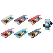 For Samsung At&t Galaxy S2 II i9100 Attain Wallet Pouch Case Cover+Car Mount