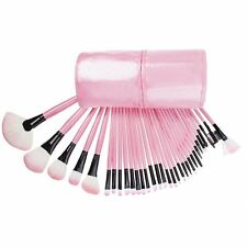 32pcs superior Professional Soft Cosmetic Makeup Brush Set Pink + Pouch Bag Case