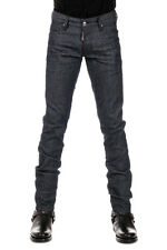 DSQUARED2 D2 Man Slim Fit Stretch Cotton Trousers Made in Italy
