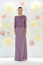 TheDressOutlet Long Mother of the Bride Dress Plus Size Formal Evening Gown