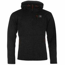 Karrimor Full Zip Hoody Mens Black Hoodie Sweatshirt Jacket
