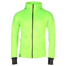 adidas Messi Full Zip Hoody Mens Green Hoodie Sweatshirt Jacket Sportswear