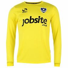 Sondico Portsmouth FC Goalkeeper Away Jersey 2015 2016 Mens Yellow Shirt Top