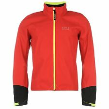 Gore Power GoreTex Cycling Jacket Mens Red/Black Jackets Coats Outerwear