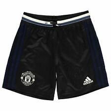 Adidas Manchester United FC Training Shorts Juniors Black/White Football Soccer