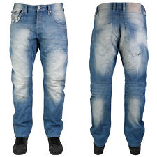 MENS BRANDED JACK & JONES BLUE DENIM RELAXED ANTI-FIT JEANS ALL WAIST LEG SIZES