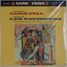 RCA LIVING STEREO LSC-2450 Schumann: Carnaval Classic 180g LP FACTORY SEALED