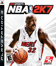 NEW NBA 2K7 Basketball Game (Sony PS3, Playstation 3) BRAND NEW & FACTORY SEALED