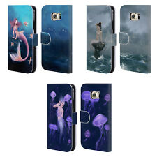 OFFICIAL RACHEL ANDERSON MERMAIDS LEATHER BOOK WALLET CASE FOR SAMSUNG PHONES 1
