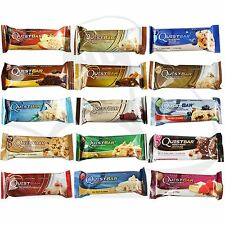 Quest Nutrition Whey Protein Bar Individual 1, 3 or 6 x 60g Bars All Flavours