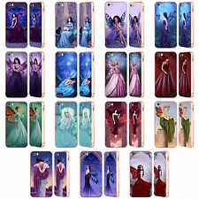 OFFICIAL RACHEL ANDERSON FAIRIES GOLD BUMPER SLIDER CASE FOR APPLE iPHONE PHONES