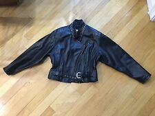 Ladies Harley Davidson Studded leather Jacket