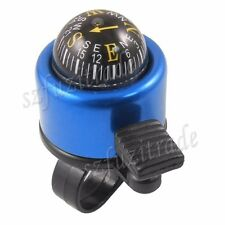 Handlebar Bicycle Bell Ring With Compass Ball Alarm Horn Fr Cycling Bike Bicycle