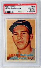 1957 Topps Brooks Robinson #328 ROOKIE PSA NM-MT 8 (MC) Baltimore Orioles!
