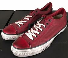 Converse by John Varvatos Coated Canvas All Star Ox Sneaker Biking Red 145369C