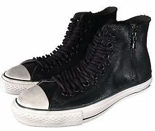 Converse by John Varvatos Chuck Taylor Multi Lace Black Leather Sneaker 150335C