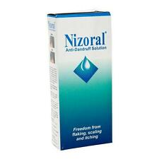 Nizoral Anti Dandruff Solution, Shampoo 50 ml for Yeasts Flaking Scaling Itching