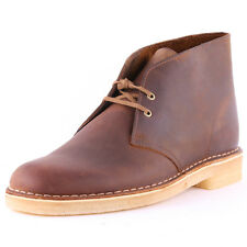 Clarks Originals Desert Boots Mens Boots Brown Leather New Shoes