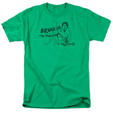 Bruce Lee BRUSH LEE Licensed Adult T-Shirt All Sizes