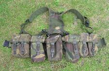BRITISH ARMY SURPLUS ISSUE DPM IRR PLCE WEBBING SET,WATER,AMMO,UTILITY POUCH