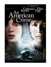 An American Crime (DVD, 2008) SUPER RARE AND OOP!!!