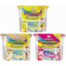 151 INTERIOR DEHUMIDIFIER WITH AIR FRESHENER 300g - STOPS DAMP CONDENSATION