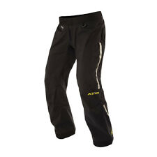 Klim Mens Black Gore-Tex Over Shell Motorcycle Pants Sport Touring Adventure
