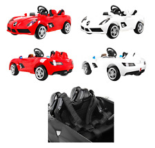 MERCEDES SLR KID CHILD RIDE ON CAR TWIN MOTOR 12V PARENTS CONTROL TOY 3COLORS