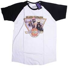 Black Sabbath T Shirt Never Say Die Tour Colour Baseball Style 100% Official