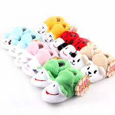Lovely Infant Baby Toddler Cotton Shoes Animal Soft Sole Boy Girls Shoes Socks