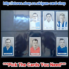 ☆ Gallaher - Famous Footballers (Brown) 1926 (G) *Pick The Cards You Need*