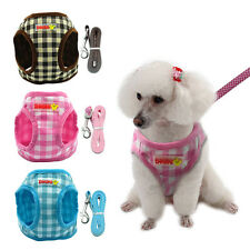 Dog Harness And Leash Lead Pets Puppy Cat Vest For Small Dogs Chihuahua Yorkie