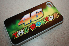 the doctor 46 valentino rossi  iphone 4 4s 5 5s case cover white or black motogp
