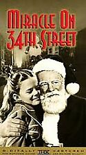 """VHS """"Miracle On 34th Street"""" BRAND NEW"""