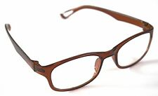 MT16  Retro 2015 Brown Reading Glasses 30p Postage for Extra Pairs +1.5+2.0+3.0