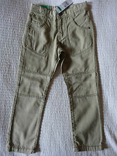 NEW BOYS BENETTON BEIGE HIKING LIFE TROUSERS / JEANS RRP£22.90 AGE 6 7 8 9 11 12