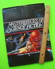 scarce 1978 MASTERPIECES OF SCIENCE FICTION Bradbury HEINLEIN Asimov ILLUSTRATED