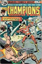 The Champions #5 (1976, Marvel; Black Widow, Hercules, Iceman, Angel) Fine FN