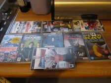 Job lot of psp 3 X UMD videos and 6 games
