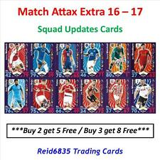 Match Attax Extra 2016 - 2017 / 16 - 17: Squad Update Cards (Free UK P&P)